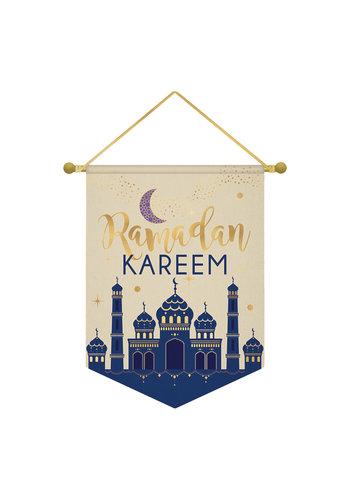 Vlag Eid Ramadan Kareem - 28x38cm