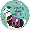 Folieballon Congrats On Your Dipllama - 45cm