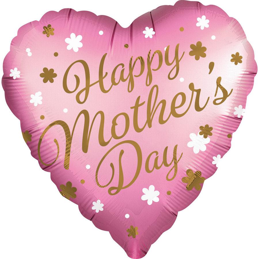 Folieballon Happy Mother's Day - 71cm-1