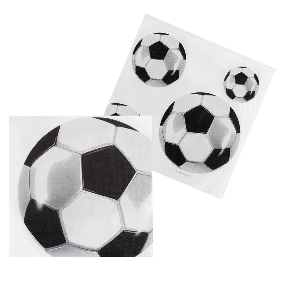 Voetbal Servetten-1