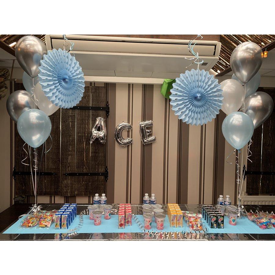 Staander van 5 heliumballonnen-1