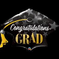 thumb-Folieballon - Congratulations Grad-1