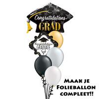 thumb-Folieballon - Congratulations Grad-2