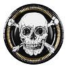 Piraten Bordjes 23cm - 6 stuks