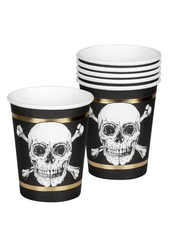 Piraten Bekertjes - 6 stuks - 250ml