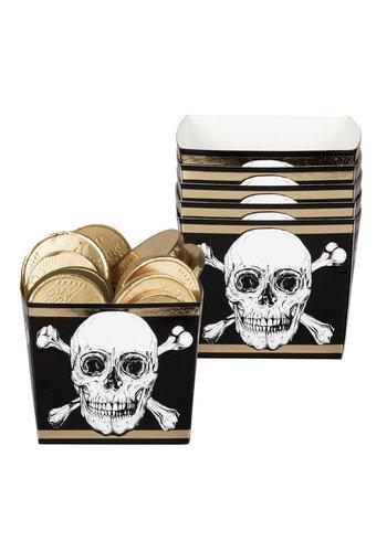 Piraten Uitdeel Bakje - 6 stuks - 40ml