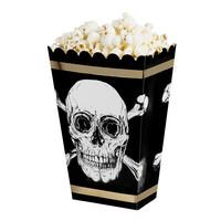 Piraten Popcorn Bakjes