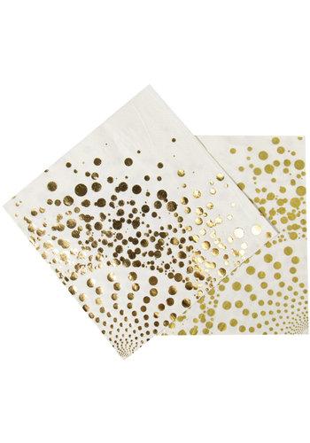 Luxury Gold Servetten - 33x33cm - 16 stuks