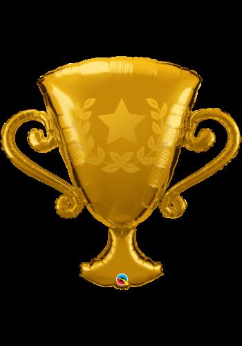 Folieballon Gouden Trofee - 100 cm