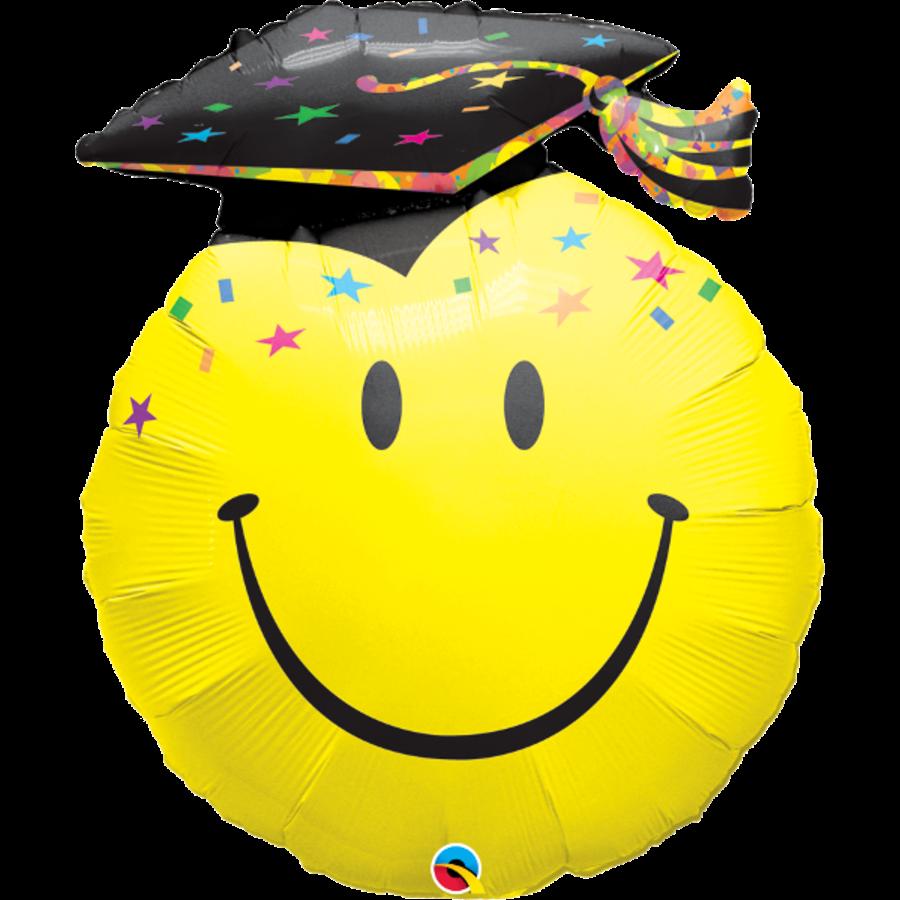 Folieballon Jumbo - Graduation Smile - 91cm-1