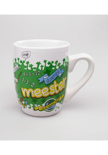 Cartoon mok - Meester