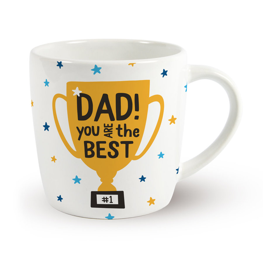 Vaderdag Mok - Dad you are the best-1