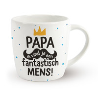 Vaderdag Mok - Papa ik vind je een fantastisch mens