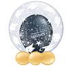 Qualatex Deco Bubble Congrats