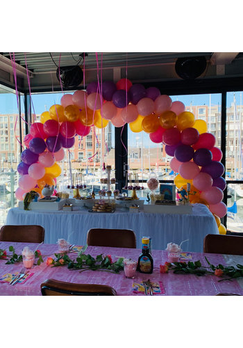 Ballonnenboog in 4 kleuren - Aanbieding!!