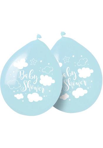 Babyshower Jongen Ballonnen - 30cm - 8 stuks