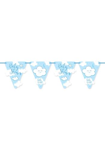 Babyshower Jongen Vlaggenlijn - 6 mtr