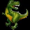 Folieballon Tyrannosaurus - 107 CM Hoog