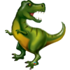 Qualatex Folieballon Tyrannosaurus