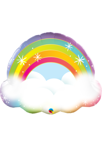 Folieballon Rainbow Cloud - 66x56cm