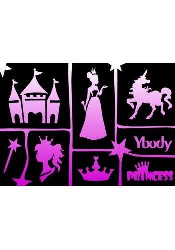 YBody Sjablonen - Princess