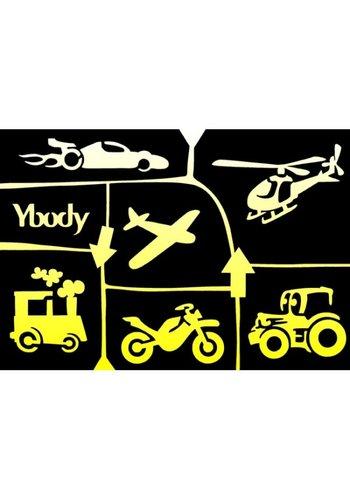 YBody Sjablonen - Transport