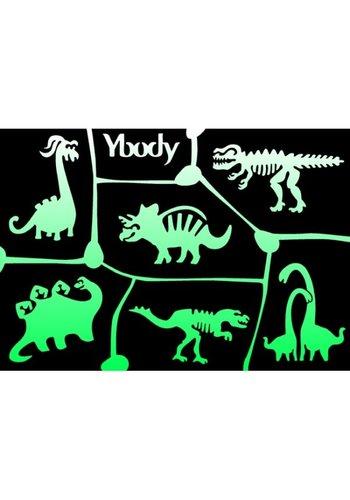 YBody Sjablonen - Dinosaurus