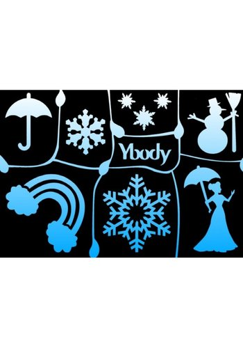 YBody Sjablonen - Winter