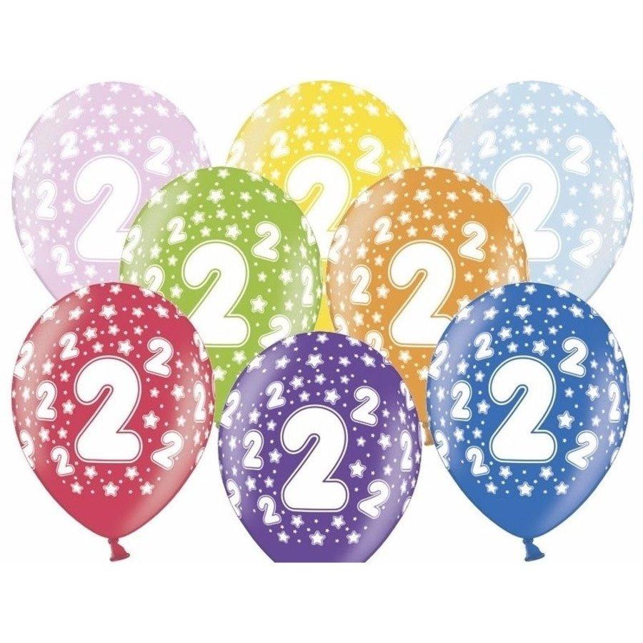 Ballonnen Metallic 2 jaar-1