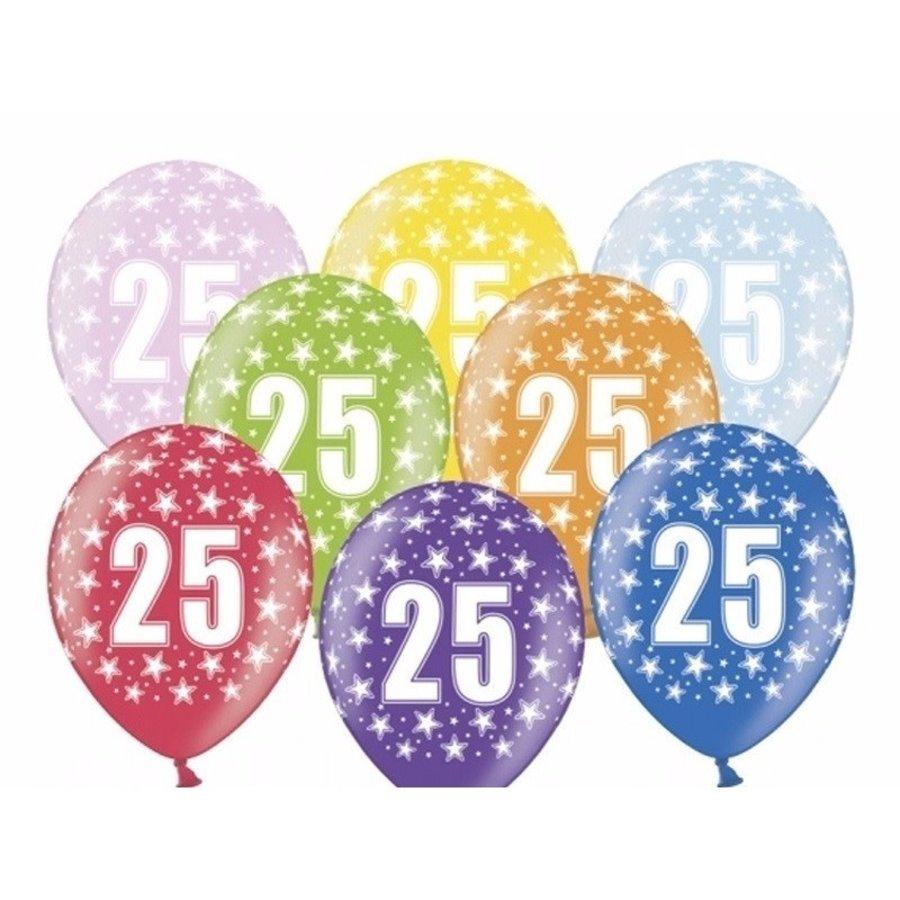 Ballonnen Metallic 25 jaar-1