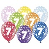 BelBal Ballonnen Metallic 7 jaar