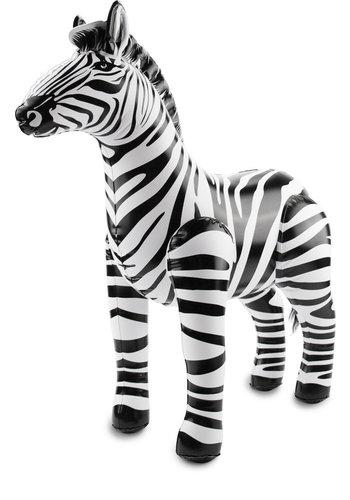 Opblaasbare Zebra - 60 cm