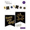 "Festive numbers starter kit ""Happy Birthday"""