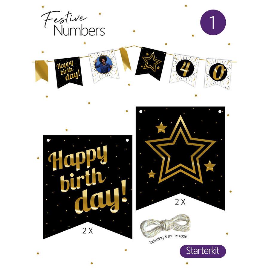 "Festive numbers starter kit ""Happy Birthday""-1"