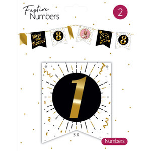 "Festive numbers ""1"""