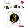 "Festive numbers ""3"""