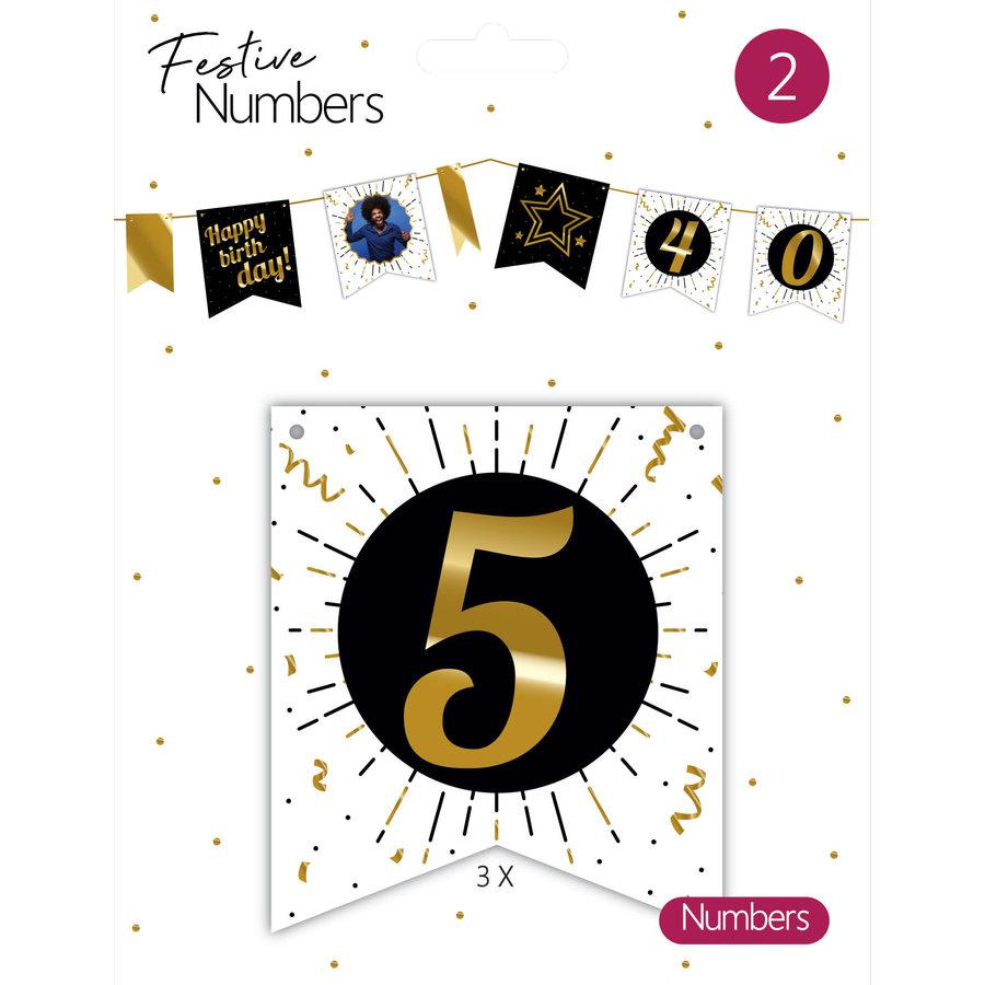 "Festive numbers ""5""-1"