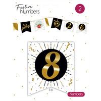 "Festive numbers ""8"""
