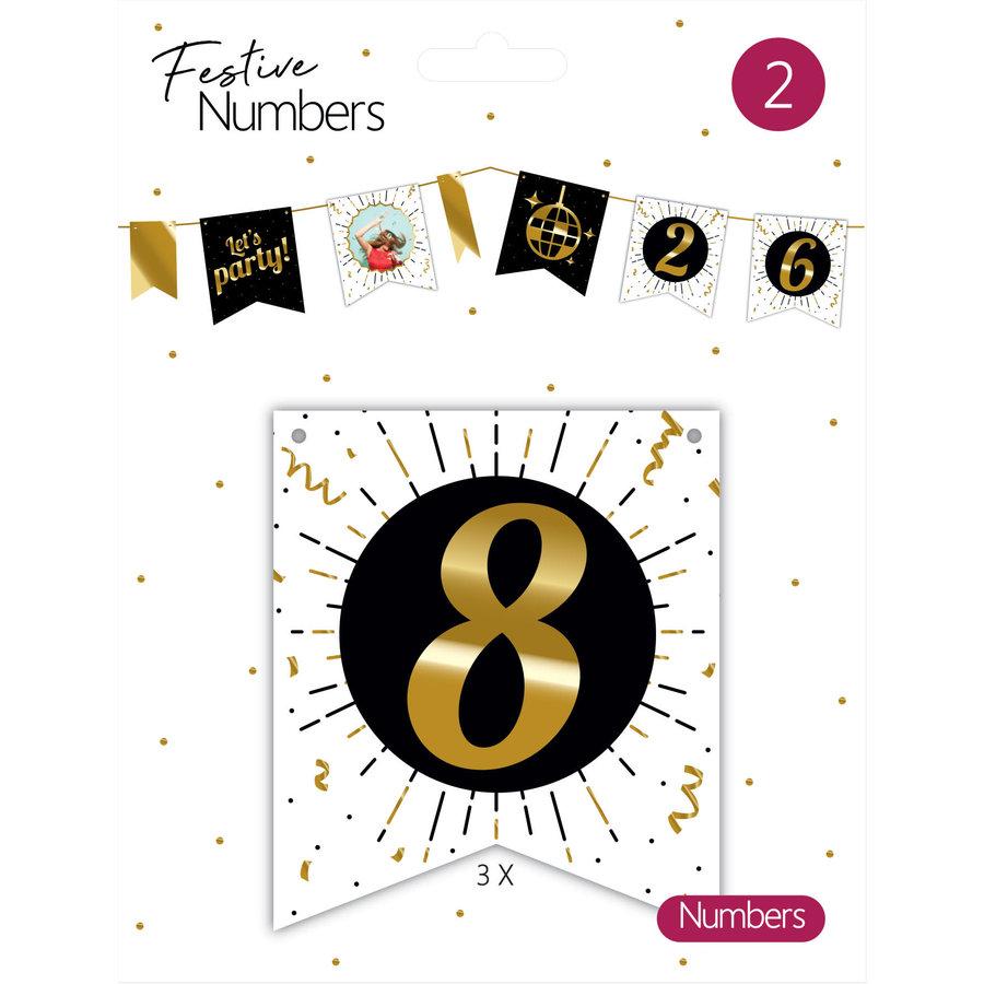 "Festive numbers ""8""-1"