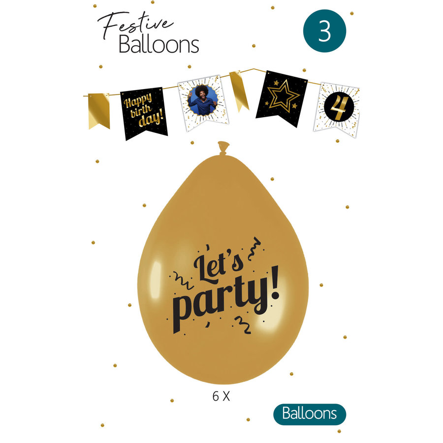 Ballonnen Let's Party-1