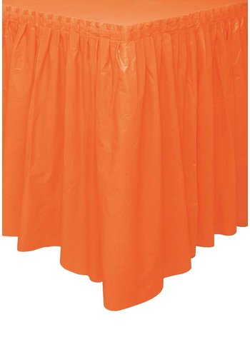 Tafelrok Oranje - 74 x 426 cm