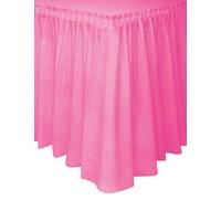 Tafelrok Hot Pink - 74 x 426 cm