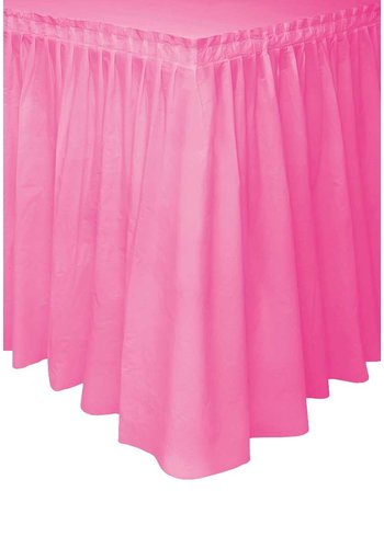 Tafelrok Hot Pink - 73 x 426 cm
