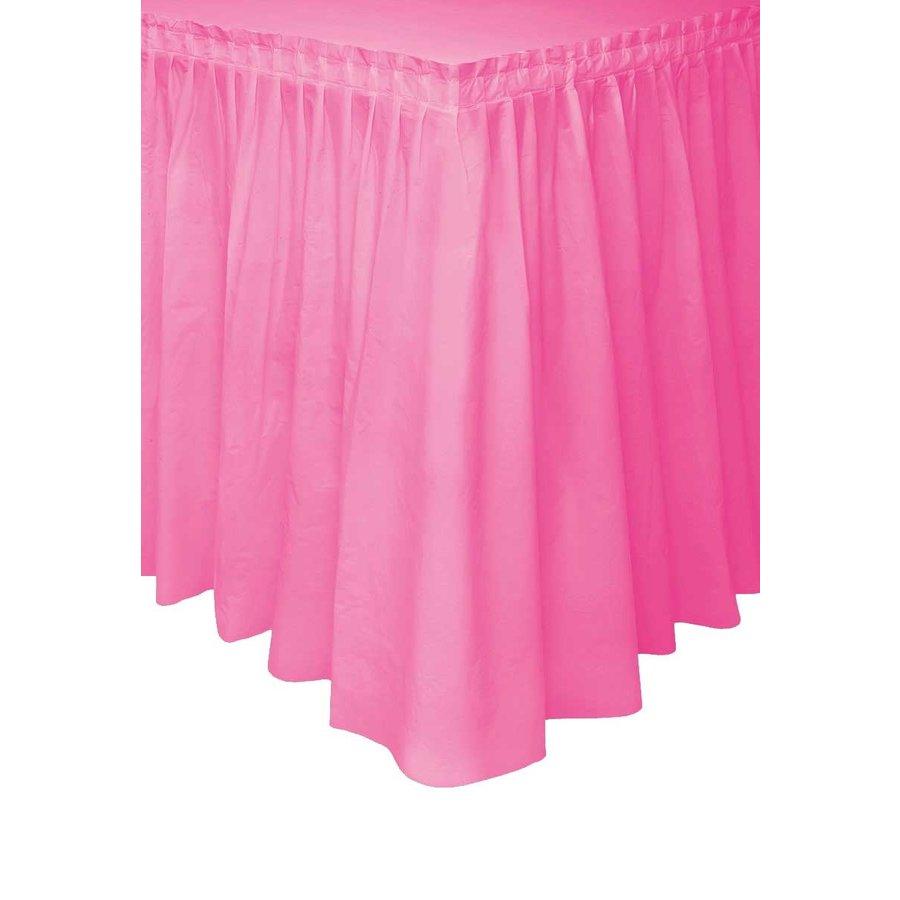 Tafelrok Hot Pink - 74 x 426 cm-1