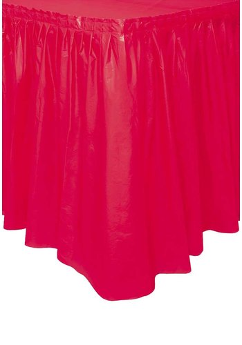 Tafelrok Rood - 73 x 426 cm