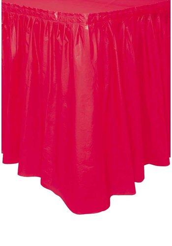 Tafelrok Rood - 74 x 426 cm