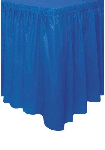 Tafelrok Donker Blauw - 73 x 426 cm