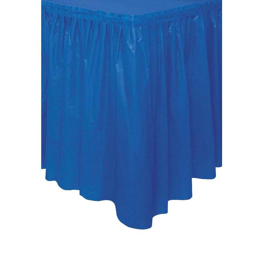 Tafelrok Donker Blauw - 74 x 426 cm-1