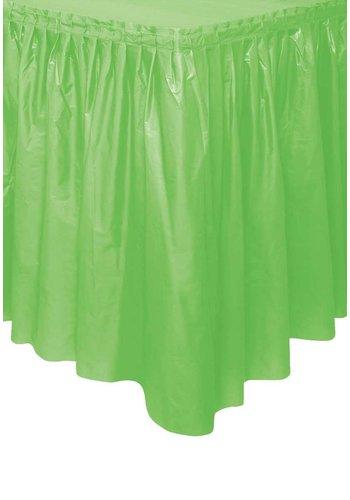 Tafelrok Lime Groen - 73 x 426 cm