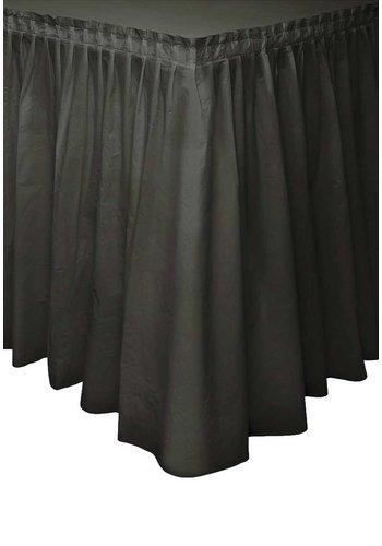 Tafelrok Zwart - 74 x 426 cm